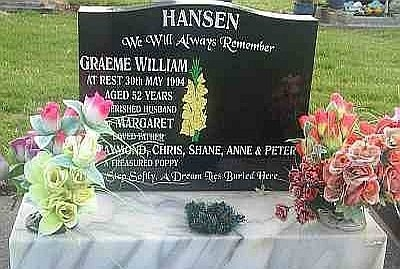 Cleaned granite headstone great colours
