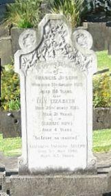 Large White Marble headstone