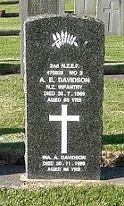 RSA headstone